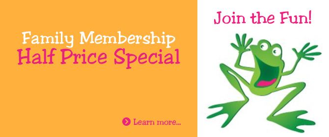 Learn more about the Half Price Membership Special