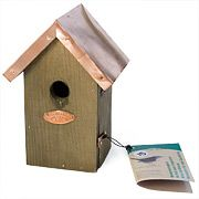 Copper-Roofed Wren House